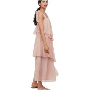 Blush Tiered Maxi Dress